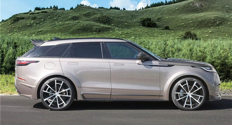 Mansory ha realizado cambios significativos en la estética del Range Rover Velar. (Foto: Mansory).