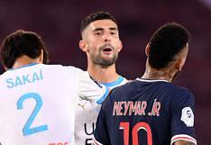 """""""Te olvidaste de cómo ganar títulos"""": Neymar y Álvaro González del O. Marsella discuten duramente en redes sociales"""