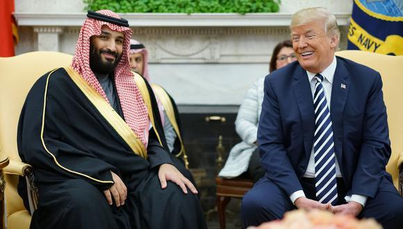 Donald Trump minimiza la posible implicación del príncipe saudí Mohammed bin Salman en muerte Jamal Khashoggi. (AFP).