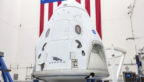 Crew Dragon será la primera nave comercial que transportará humanos al espacio.