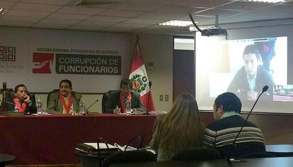 Carlos Alexis Crisólogo Saavedra, hijo del ex congresista Víctor Crisólogo, seguirá en prisión preventiva. (Difusión)