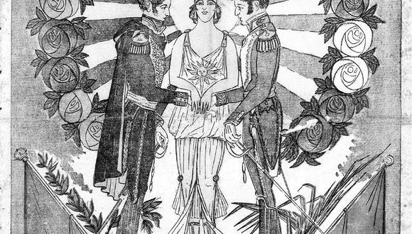 Portada de El Comercio publicada el 28-07-1921