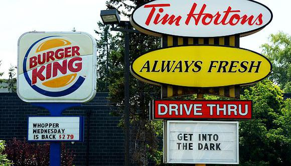 Burger King anunció compra de Tim Hortons por US$11.400 mlls.