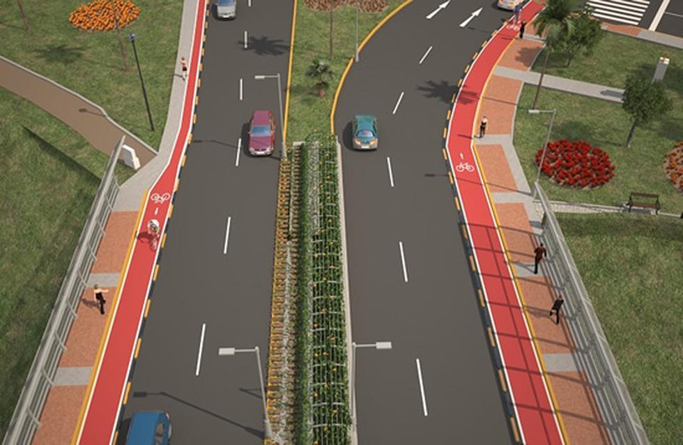 Miraflores: construirán puente Mellizo Villena Rey - 2