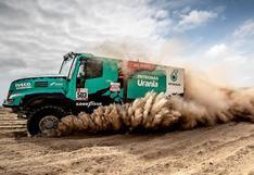 Dakar 2019: Gran etapa de Gerard de Rooy en Camiones