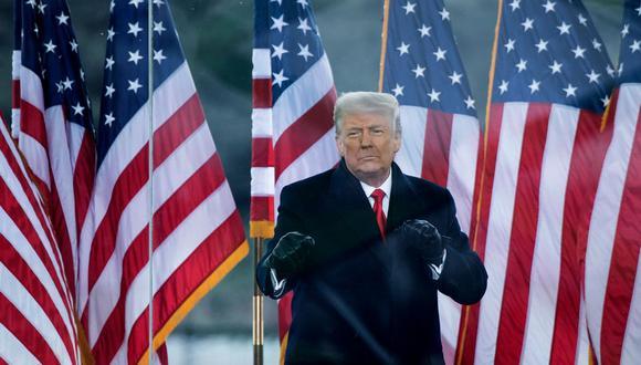 Donald Trump en una imagen del 6 de enero del 2021. (Foto: Brendan Smialowski / AFP).