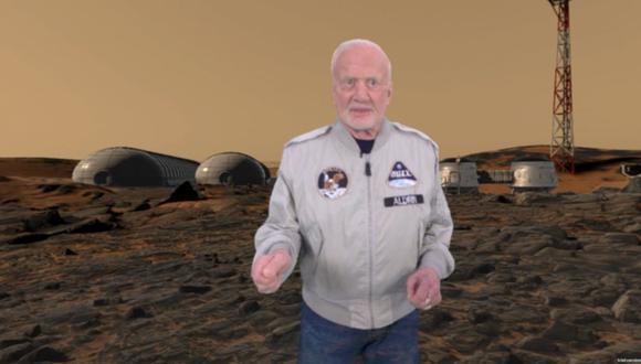 Buzz Aldrin. (Foto: BBC)