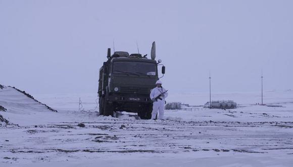 Rusia tiene aproximadamente un millón de ciudadanos en el Ártico.