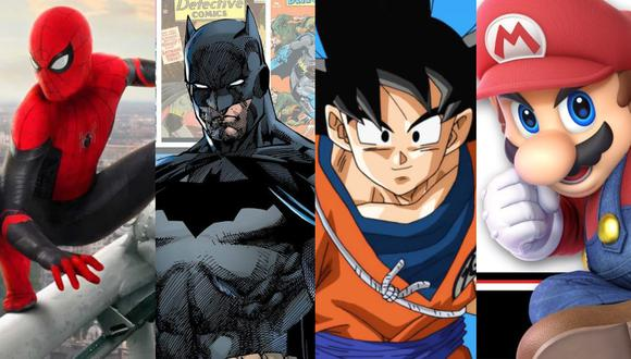 Spider-Man, Batman, Goku y Mario Bros no estarán juntos en Super Smash Bros. Ultimate. (Captura de pantalla - Difusión)