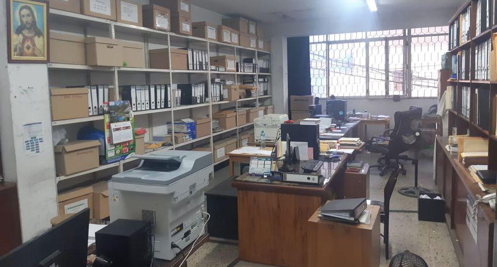 Se han incautado documentos, equipos de cómputo, teléfonos celulares, entre otros. (Foto: Policía Nacional)
