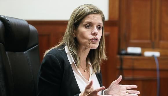 La vicepresidenta Mercedes Aráoz denunció el fin de semana que su asesor de prensa fue despedido sin justificación. (Foto: GEC/Archivo)