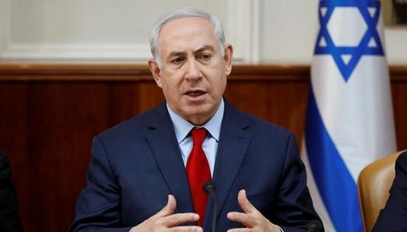 Benjamin Netanyahu también volvió a felicitar y agradecer la decisión de Estados Unidos de cerrar la oficina de representación diplomática en Washington de los palestinos. (Foto: EFE)