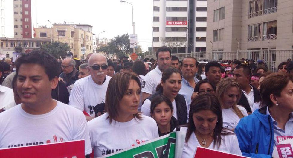 #NiUnaMenos: así se desarrolló la marcha en Lima [FOTOS] - 11