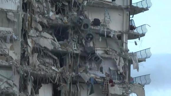 Effondrement partiel d'un immeuble en Floride