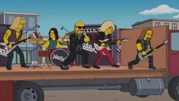 """Judas Priest aparecerá en el próximo episodio de """"Los Simpson"""""""