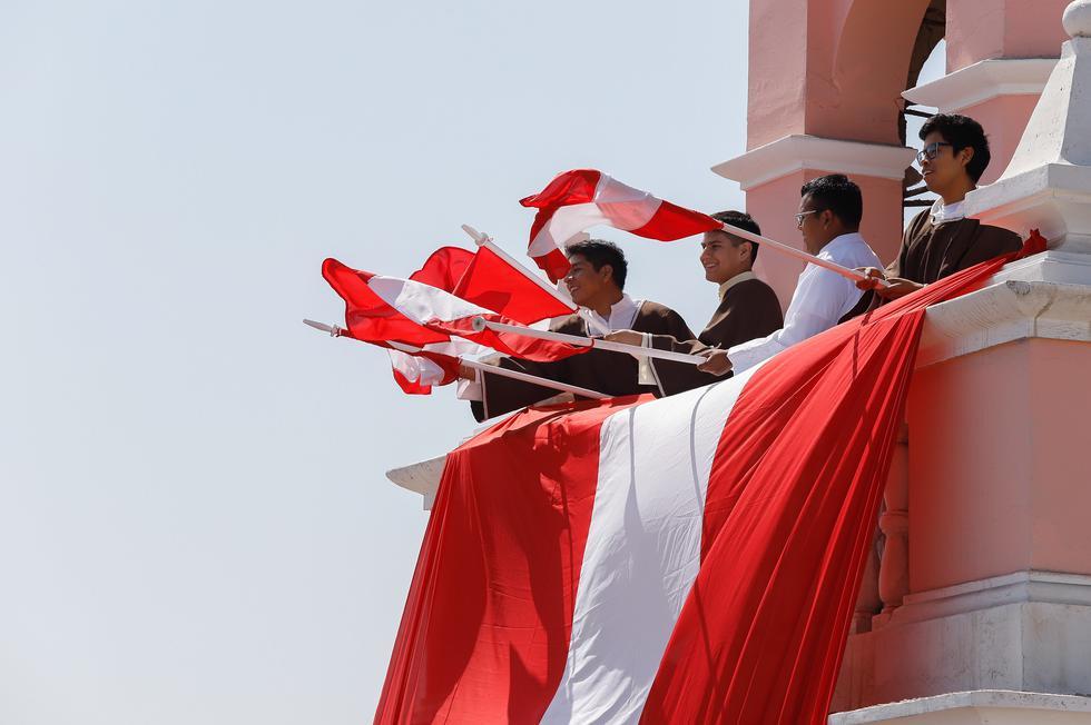 Las actividades por el aniversario 90 de la reincorporación de Tacna al Perú. Participaron autoridades del Gobierno central y autoridades locales. (Foto: Presidencia del Perú)