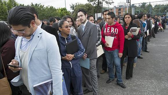 La tasa de desempleo que en Lima promedia, cada mes, alrededor de 6,5%, se habría ubicado por encima de 12%, indicó el BBVA Research. (Foto: GEC)