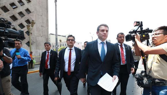 El fiscal superior confirmó que se develaron 'codinomes' relacionados al caso Gasoducto Sur y el proyecto Olmos. (Foto: Andina)