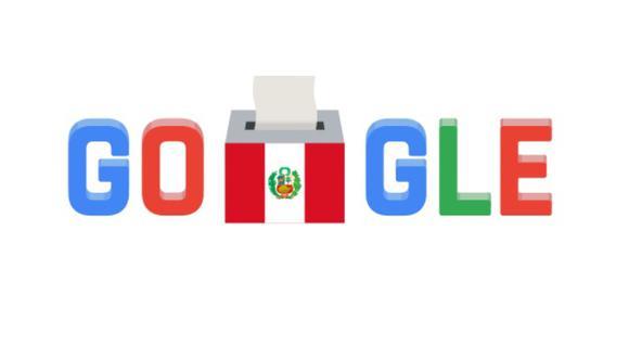 Google cambió su portada principal con un doodle en el marco del proceso de segunda vuelta de las elecciones en nuestro país. (Google)