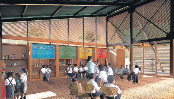 Plan Selva: colegios prefabricados adaptados a la Amazonía