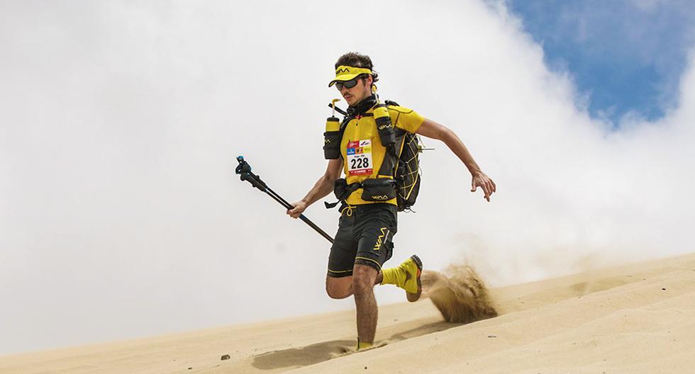La Marathon des Sables tuvo su primera versión en 1986, en el desierto del Sahara (Marruecos).