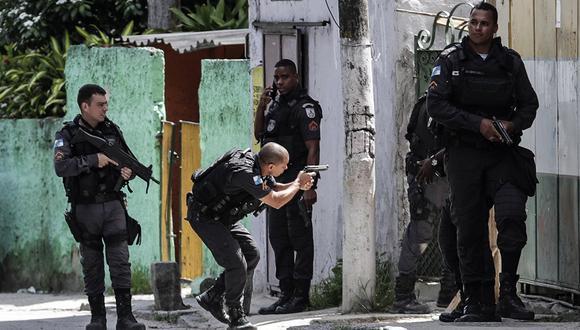 Operación policial en favela de Río de Janeiro dejó cuatro muertos y tres heridos. (Foto referencial: EFE/Archivo)