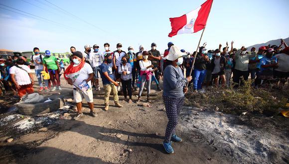 Con la Ley de Promoción Agraria (Ley N° 27360) , los trabajadores agrarios percibían una remuneración diaria (RD) de S/ 39,19. Durante la semana, realizaron protestas en Ica y en el norte del país para exigir mejora de condiciones laborales.