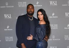 """Kim Kardashian y su mensaje de cumpleaños a Kanye West: """"Te amo de por vida"""""""