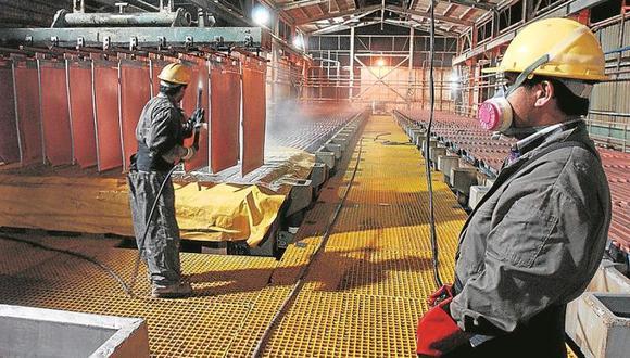 Los precios del cobre de Shanghái cayeron, cerrando con una baja del 0,4%. (Foto: GEC)
