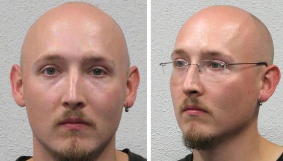 Imágenes de Yves Rausch difundidas por la policía alemana. (Foto: cortesía)