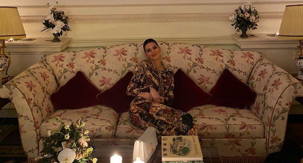 La joven modelo publicó en Instagram unas fotografías junto al actor Luka Sabbat, expareja de Kourtney Kardashian. (Foto: Instagram)