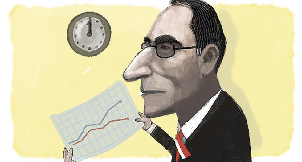 Evaluación de la gestión. (Ilustración: Víctor Aguilar para El Comercio)