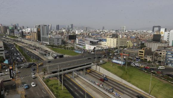 Comuna cerrará tramo que va desde la Av. Angamos hasta la Av. Aramburú, Miraflores. (Anthony Niño de Guzmán / El Comercio)