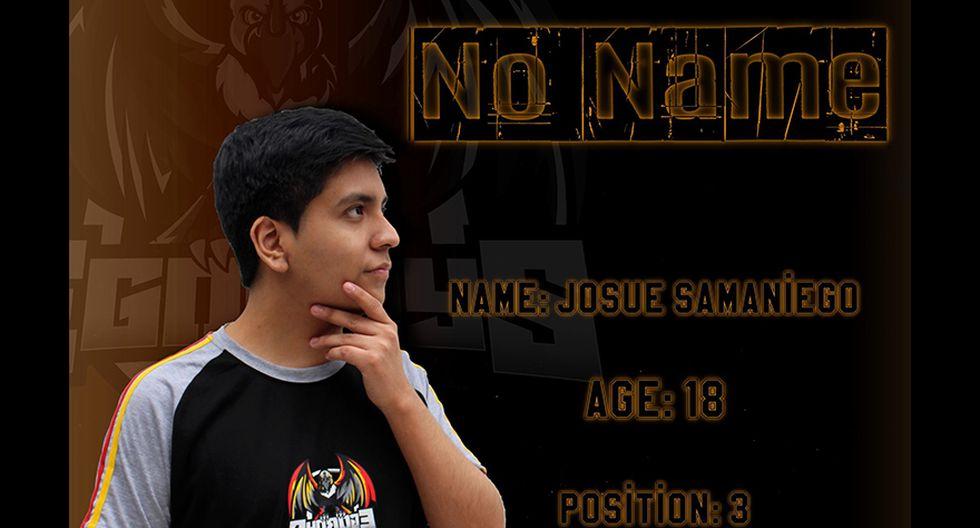 Josue 'No Name' Samaniego cuenta con 18 años. (Imagen: EgoBoys / Facebook)