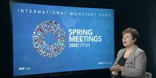 """FMI prevé la """"peor caída económica"""" desde la Gran Depresión por covid-19"""