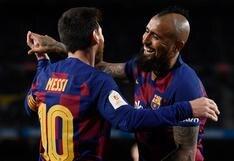 """Messi se despidió de Arturo Vidal: """"Te hiciste notar mucho, el vestuario te va a extrañar"""""""