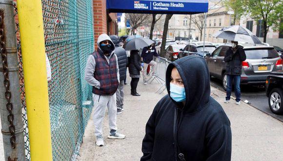 Nueva York es el gran foco estadounidense con aproximadamente un cuarto de todos los muertos del país. (EFE/ Justin Lane).