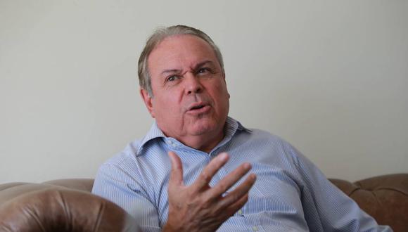 Pedro del Rosario, presidente del Comité Olímpico Peruano, se pronunció sobre la postergación de Tokio 2020. (Foto: GEC)
