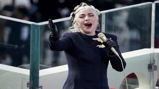 Lady Gaga canta himno de Estados Unidos en ceremonia de Joe Biden