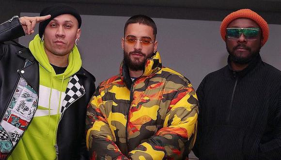 El cantante colombiano Maluma habría grabado una nueva canción junto a The Black Eyed Peas. (Foto: @maluma)