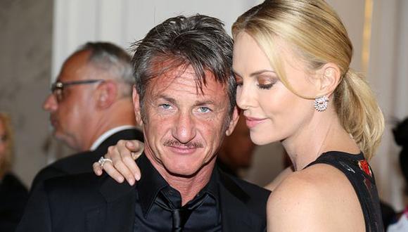 Charlize Theron y Sean Penn terminaron su relación amorosa