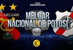 Melgar vs. Nacional de Potosí: sigue aquí el minuto a minuto del partido por Copa Sudamericana