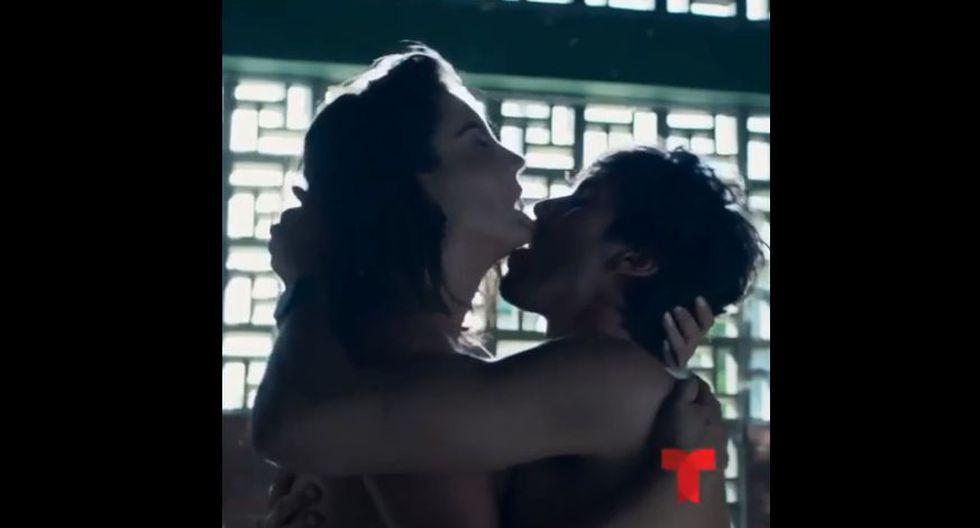 """El actor peruano Jason Day y la venezolana Gaby Espino protagonizan la nueva producción de Telemundo """"Jugar con fuego"""". (Fotos: Instagram)"""
