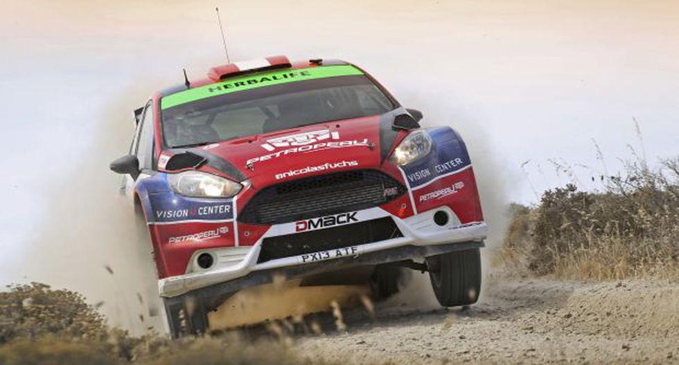 Fuchs tuvo percance antes de correr fecha del Mundial de Rally