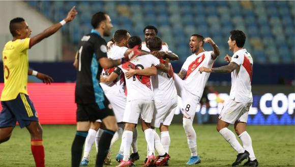 La selección peruana no le ganaba a Colombia desde el 2011 por la Copa América de Argentina. Cortó una racha de diez partidos. (Foto: Jesús Saucedo / GEC)