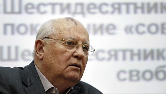 Mijaíl Gorbachov. AP