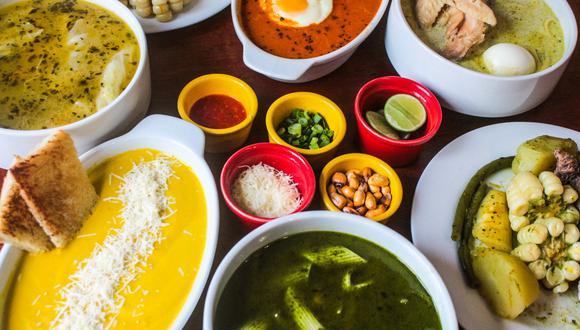 El chef Raúl Aranibar ha reproducido recetas tradicionales como el sancochado, menestrón, minuta, caldo de gallina y crema de zapallo. (Restaurante Huáscar)