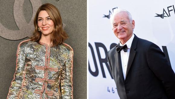 """Sofia Coppola y Bill Murray volverán a trabajar en la película """"On the Rocks"""". (Foto: AFP)"""