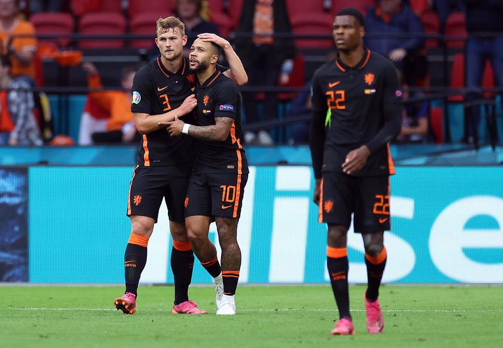 Holanda venció a Macedonia del Norte por la Eurocopa 2021
