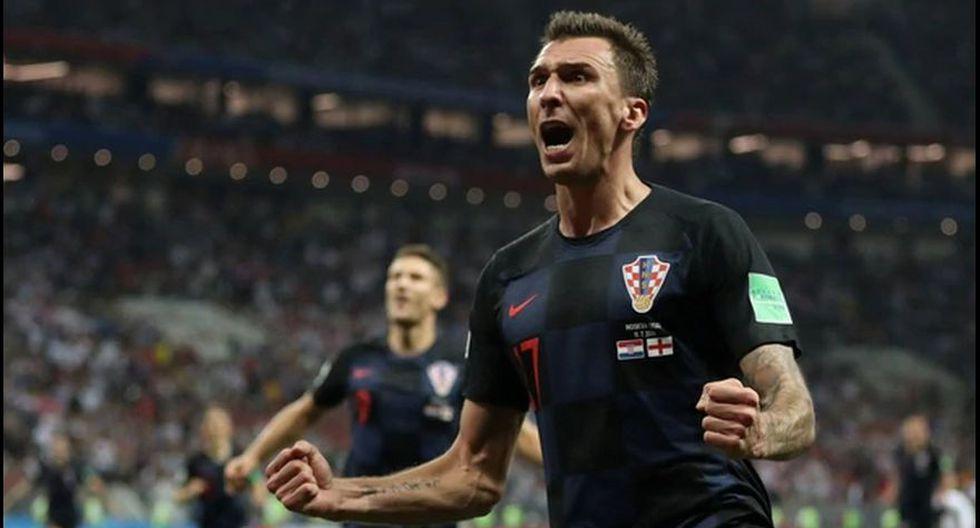 Mario Mandzukic marcó el gol de la clasificación a la final. (Foto: AFP).